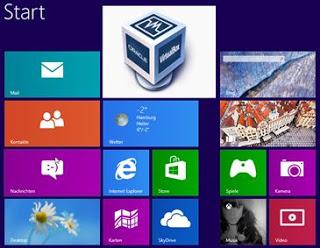 Upgrading Vista to Windows 8 on Virtual Box